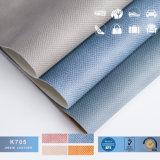 Rexine hacer, para los bolsos de cuero de PVC, fino tejido de cuero