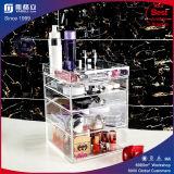 China Novos produtos Exibição de maquiagem acrílica