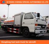 Caminhão do depósito de gasolina para o transporte do petróleo Diesel do combustível