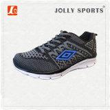 Esportes novos do Knit do estilo do projeto da sapatilha que funcionam sapatas dos homens das mulheres