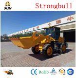 Xjn/Strongbullの中国のフロント・エンド2トンの小型車輪のローダーの値段表