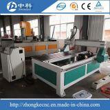 4 Mittellinien-Kontrollsystem hölzerner Arbeits-CNC-Fräser