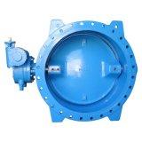 Двухстворчатый клапан вафельной выступ и фланцевый тип концентрические клапана или двойной эксцентриковый клапаны Pn10 Pn16 Pn25