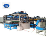 Plastikkörnchen PS-Schaumgummi-Mittagessen-Kasten-Blatt, das Maschine herstellt