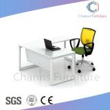 Elegante blanco Inicio Mesa de ordenador de escritorio de Office Manager (CAS-MD1878)
