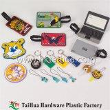 Бирка багажа PVC Eco-Friendly перемещения мягкая