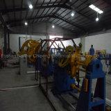 Cable de alambre del edificio que forma la máquina