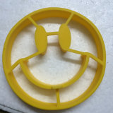 FDA Approuvé Smile Shape Silicone Egg Pancake Ring