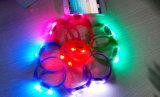 祝祭のギフトの声の振動によって作動する音制御LED Flalshブレスレットのリスト・ストラップ