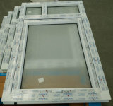 Conca 60 Top Hung UPVC Window con Frosted Glass