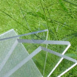 1.22*2.44m Clear Roofing Solid Polycarbonate Sheet/Panel