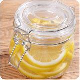 Опарник варенья хранения чая Honey&Lemon стеклянный с загерметизированной крышкой