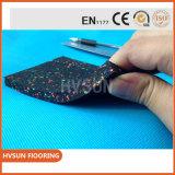 Azulejo de suelo 10mm-50m m de goma colorido. Suelo de goma de la separación al aire libre