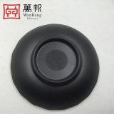 Plaque de dîner de forme de lame de vaisselle de vaisselle d'art de mélamine