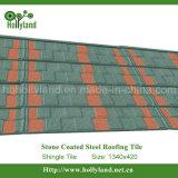 Telhado de metal revestido de pedra (telha de telha)