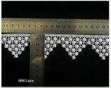 Micro Fibra solúvel em água tecido Lace, decoração de aparar, Artesanato Guarnição Lace L124