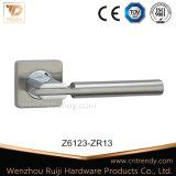 Атласный никель рукоятки рычага переключения передач в сборе на ручке двери входные двери