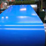 Цвет сини неба покрыл стальную катушку для прокладки разреза