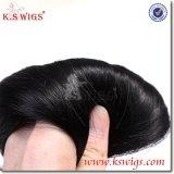 Perücke-unverarbeitete brasilianische Jungfrau-Haar-Menschenhaar-Extension K.-S