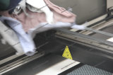 Precio de cuero de la cortadora del laser del CO2 de la materia textil de la tela