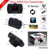 Caja DVR nueva 1.5inch Negro de coches con Full HD 1080p Ntk96620 video del chipset, de 3 ejes G-Sensor, detección de movimiento, la cámara 5.0Mega Ommivision coche óptico DVR-1502