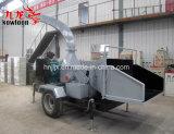 Mobiele Houten Chipper van de Dieselmotor