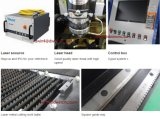 Cortador do laser da fibra do CNC do metal 1500W da tubulação da câmara de ar da folha da liga