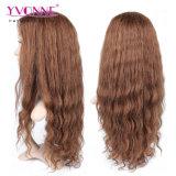 Colorer la pleine perruque brésilienne de cheveux humains du lacet #4