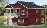 長い生命時間ライト鉄骨構造のセメントのボードの別荘の家