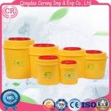 Runde medizinische scharfe Plastikbehälter