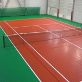 Le sport en vinyle PVC synthétique laminés pour Court de badminton
