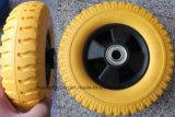 Самоустанавливающееся колесо, 3.00-4 PU колеса для Испании рынка