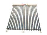 Nueva 70mm de vacío de metal y cristal tubo pipa de calor del colector solar