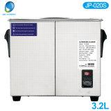 Medical esterilizador digital Limpiador ultrasónico de 3,2 l de equipos médicos (JP-020S)