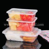 Cajas de embalaje disponibles de encargo, envase de alimento de los PP