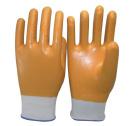 15 Индикатор нейлон и спандекс гильзы в полной мере нитриловые перчатки с покрытием