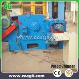 China madera Fabricante de trituradora trituradora de madera tipo tambor