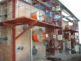 省エネの石炭水燃料の蒸気ボイラ
