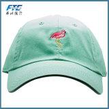 Chapeau de Baseall de panneau d'OEM 6 avec l'impression de broderie