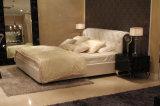 Кровать кожи Faux 2016 новых кроватей гостиницы конструкции кровати конструкции кровати Ls-412 высокого качества кровати собрания новых итальянская