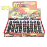 Magischer Plastik 2.5*3.5, der wachsende Dinosaurier-Ei-Spielwaren ausbrütet