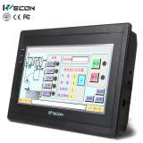 Панель касания дюйма HMI Wecon 7 с системой вздрагивание