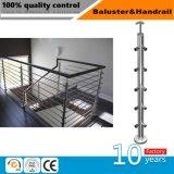 Sistema do suporte do aço inoxidável do projeto/balaustrada especiais da escadaria