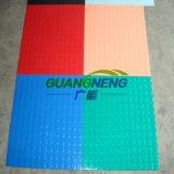 Установите противоскользящие резиновые Пол Fire-Resistant резиновый пол цвета промышленных Лист резины
