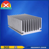 Placcare il dissipatore di calore di alluminio dell'aletta dell'espulsione di potere della lega di alluminio 6063