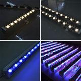 Lumière linéaire extérieure 60W de rondelle de mur de la vente chaude RVB DEL de fournisseur de la Chine