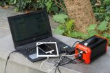 AC/DC/USB 휴대용 태양 가정 힘 300W 발전기 시스템
