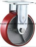 5X2 Inchの重義務のCast Iron Core PU Caster