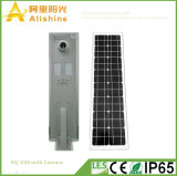 Upgrades 30W Integrated Solar Street Light with WiFi Camera