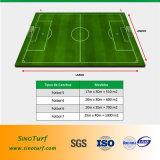 熱い販売法のフットボール、サッカー、Futsalのスポーツのための人工的な泥炭の草